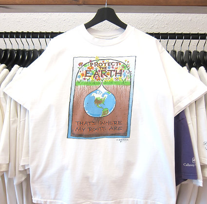 90's Protect The Earth Our Roots Tee - L