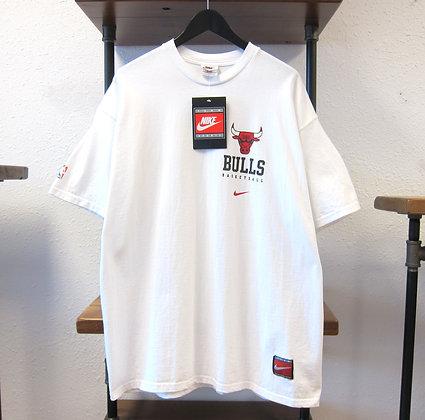 90s Nike Chicago Bulls White Tee - XL