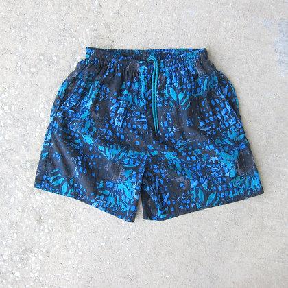 90s Nike Printed Nylon Water Shorts - L