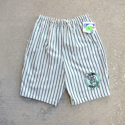 90s Boston Celtics Chalk Line Baggy Shorts - S/M