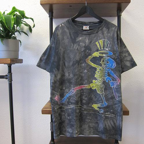 '94 Grateful Dead Charcoal Tie Dye Tee - XL