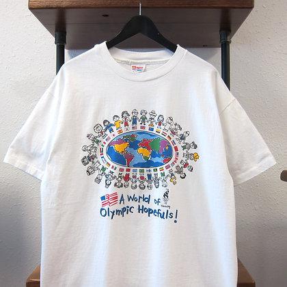 '96 Atlanta Olympic  Whole World Tee - L