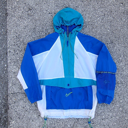 90s Nike Aqua Tech Windbreaker - M