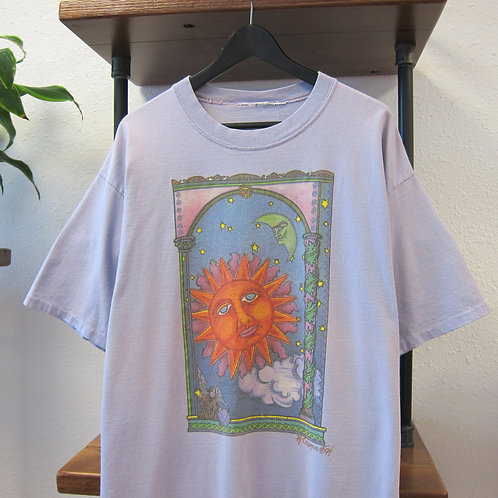 '94 Sun & Moon Lavender Art Tee - XL