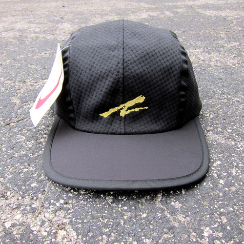 e7a07cd3132 90s Nike Andre Agassi Black Mesh Panel Tennis Hat