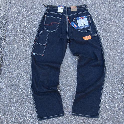 90s Triple Five Soul Dark Denim Jeans - 34x34