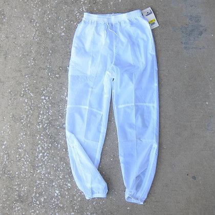 90s Nike White Nylon Swishy Pants - S