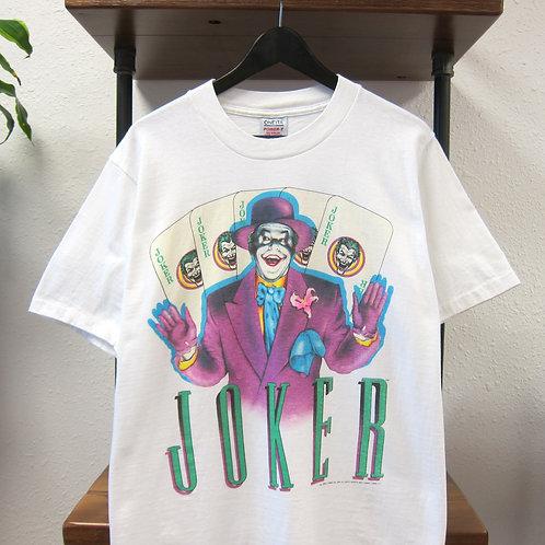 1989 Joker White Oneita Movie Tee - L