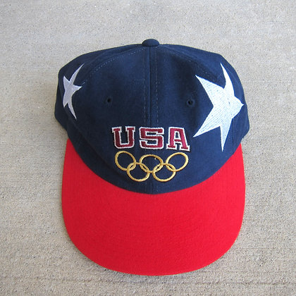 90s Champion USA Stars 6 Panel Hat
