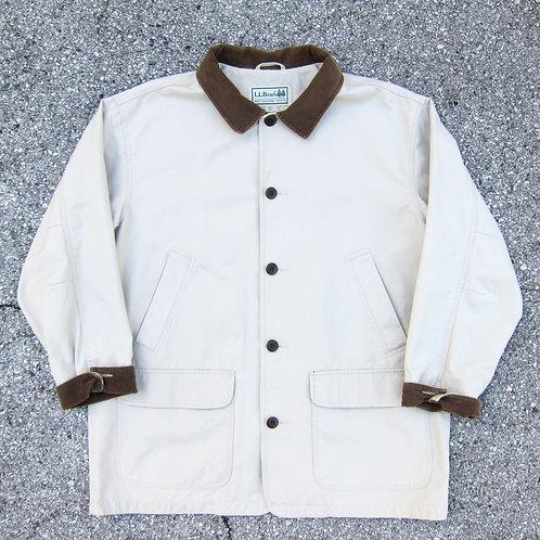 90s L.L. Bean Sand Cotton Barn Jacket - XL/XXL