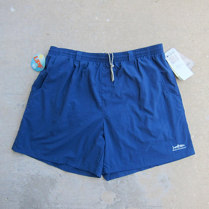 Columbia Sportswear Carbon Blue Nylon Water Shorts - XL