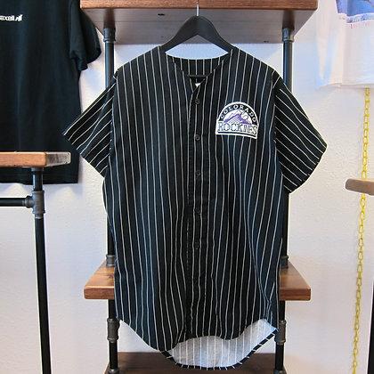 90s Colorado Rockies Cotton Jersey - L