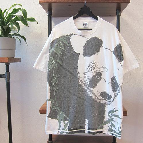 90s Panda Bear Art Tee - XL