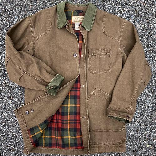 90s L.L. Bean Brown Denim Barn Jacket - M/L