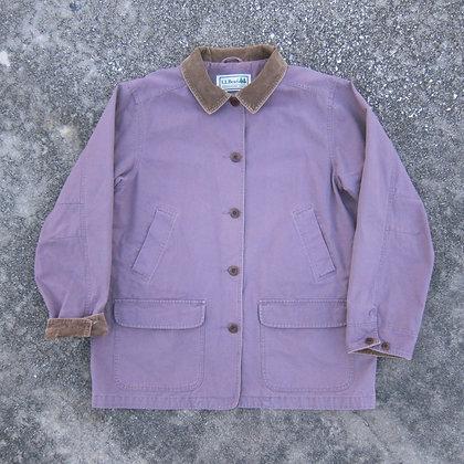 90s L.L. Bean Lavender Chore Jacket - L