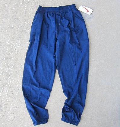 90s Nike Navy Nylon Swishy Pants - XL