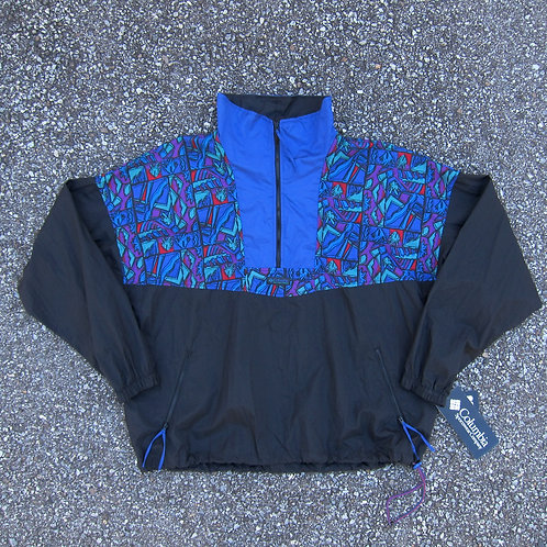 90s Columbia Sportswear Printed Nylon Windbreaker - XL