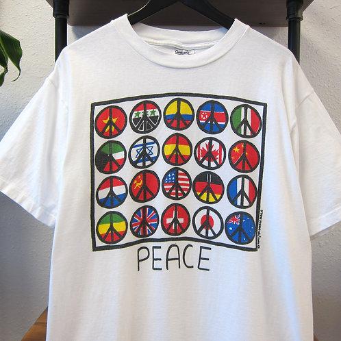 90s Wolrd Peace Tee - XL