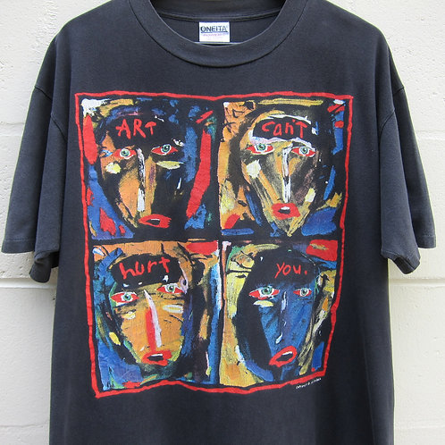 '91 Art Can't Hurt You Tee - L
