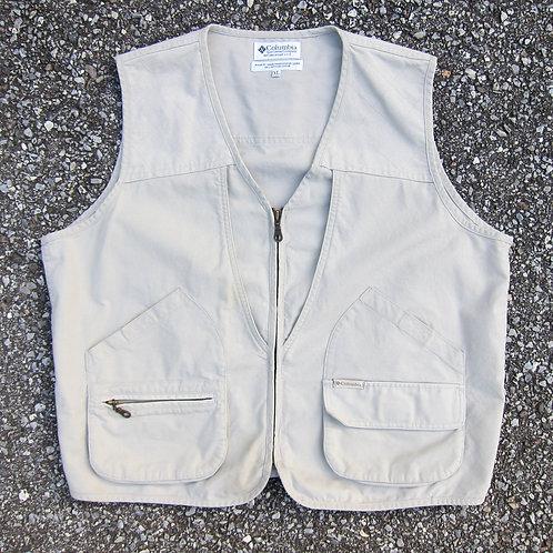 90s Columbia Sportswear Cotton Vest - L