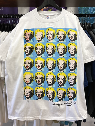 '93 Andy Warhol Marilyn Monroe Art Tee - XL