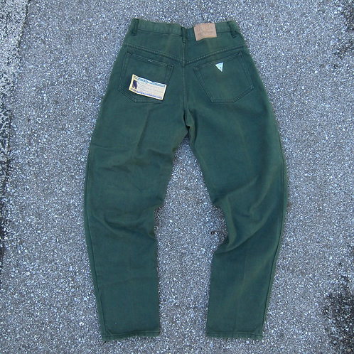 Early 90s Guess Forest Green Jeans - 32x33