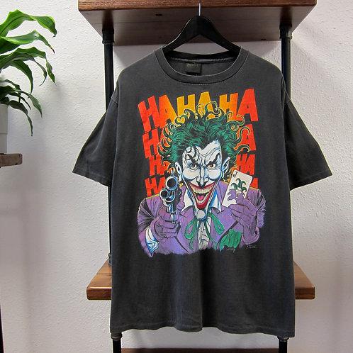Faded 1989 The Joker Black Tee - XL