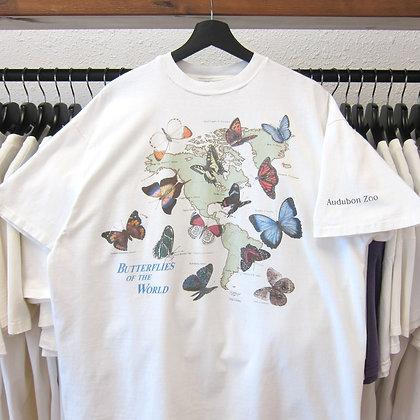 90's Butterflies Of The World Tee - L