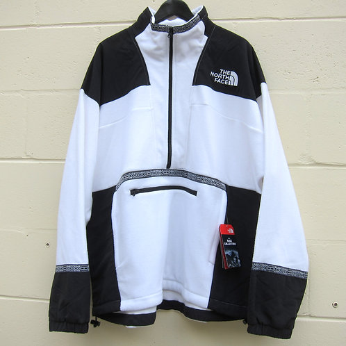 Retro '92 The North Face White Rage Fleece Anorak - XL
