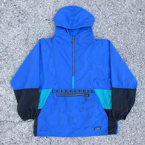 90s L.L. Bean Blue Nylon Anorak - S