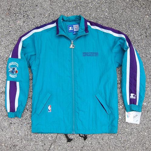 90s Charlotte Hornets Starter Windbreaker Jacket - S
