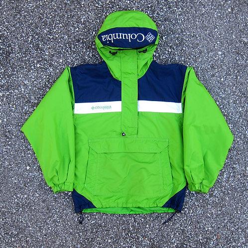 90s Columbia Sportswear Pullover Tech Jacket - S/M