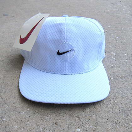90s Nike White Mesh Tennis Hat