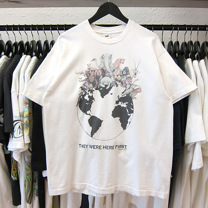 '92 They Were Here First Nature Tee - L