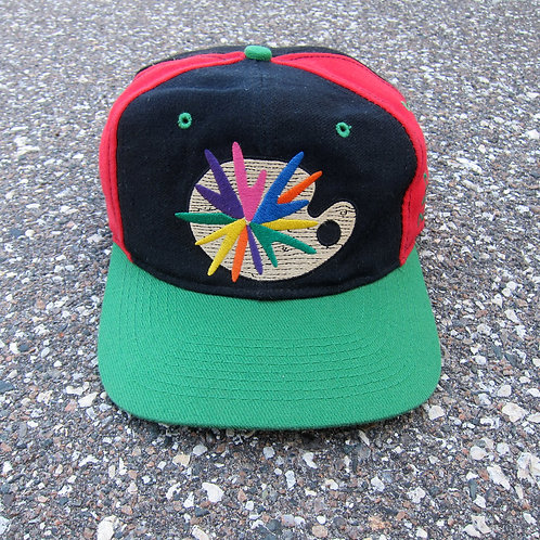 90s Street Noyz Art Palette Snapback Hat