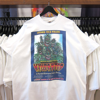 90's Attack Of The Killer Weed Tee - XL