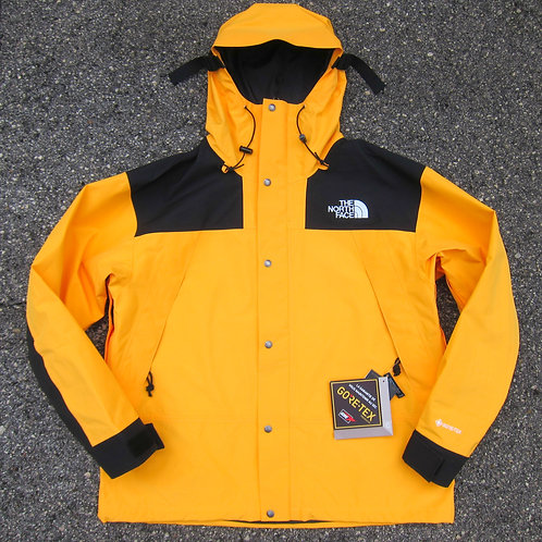 Retro '90 The North Face Yellow Goretex Mountain Jacket - XL