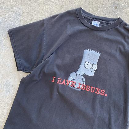 2000s *Worn* Bart Simpson Tee - L/XL