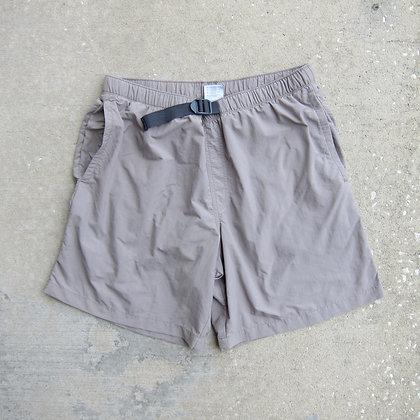 Columbia Sportswear Beige Belted Nylon Shorts - M