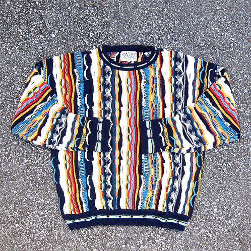 90s Bootleg Coogi Knit Crewneck - L/XL