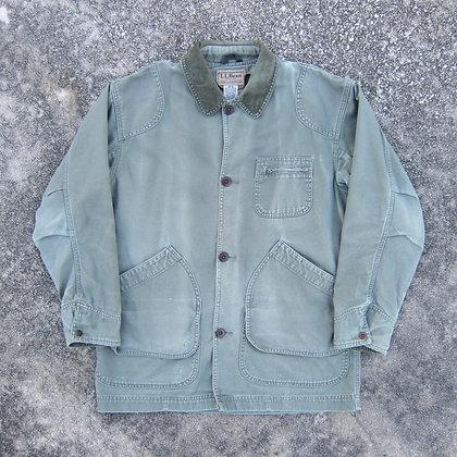 *Worn* 90s L.L. Bean Army Green Chore Jacket - M