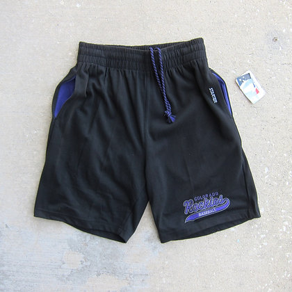 90s Colorado Rockies Starter Cotton Shorts - M