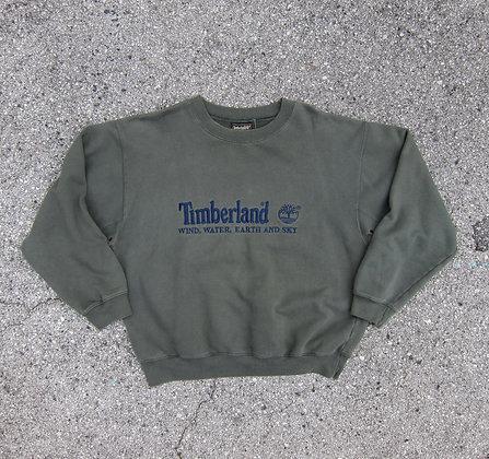 90s Timberland Olive Green Crewneck - XL