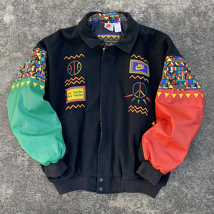 '92 Nike Urban Jungle Varsity Jacket - M/L