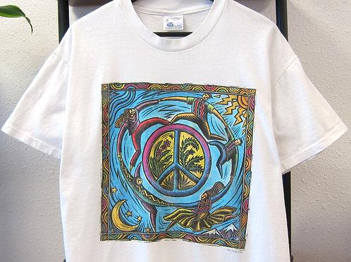 '95 Circle of Life Peace Tee - L