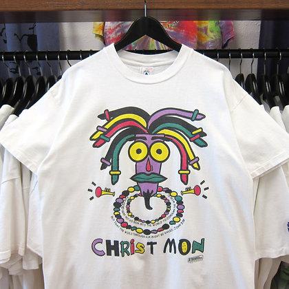 "90s Jamaican Parody ""Christ Mon"" Tee - L"