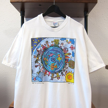 '91 We Are All One Being Tee - XL