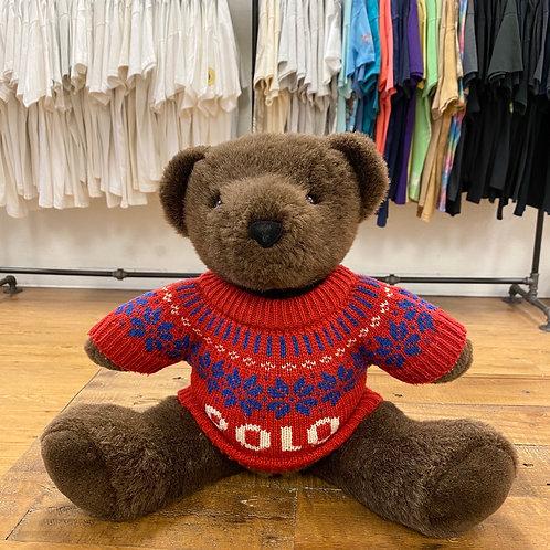 2000 Polo RL Stuffed Bear