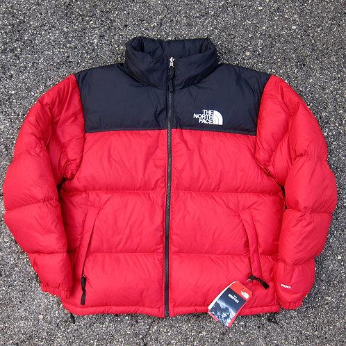 Retro '96 The North Face Red 700 Fill Nuptse Jacket - L