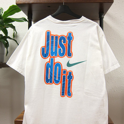 90s Nike Just Do It Graphic Tee - L